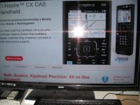 Texas Instruments TI nspire cx cas Algebra System,