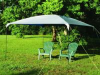 TEXSPORT Silver Dining Canopy-- 10' x 10'-- Light