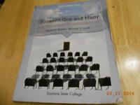 College Textbook - Between One and Many, The Art &