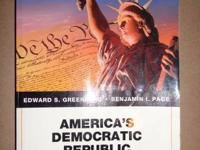 Metro books for sale.  America's democratic republic