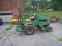 Up for sale is a TEXTRON 350 Turfcare mower. Unit is