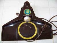 THE 19th Hole practice putting machine model 1902. Call