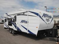 The 2015 Attitude Metal Eclipse 23FB is a travel