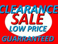 DISCOUNT APPLIANCE WAREHOUSE  HUGE LIQUIDATION SALE ON