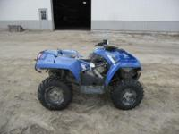 Stock # 5502 2013 Polaris Sportsman HO 400 4x4 Up for