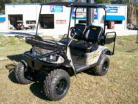 The Beast 48 is the most complete All-Terrain Golf Cart