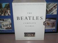 We have here the Beatles complete scores hard cover