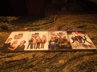 The Big Bang Theory TELEVISION Series seasons 1-4 on