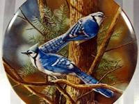 The Bluebird Plate by Artist Kevin Daniel - $35 -