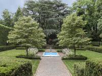 Borie Estate Formal gardens inspired by a de Rothschild