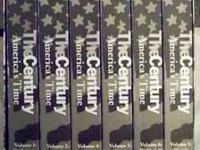 THE CENTURY AMERICA'S TIME VHS VIDEO COLLECTOR EDITION