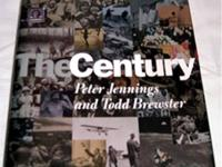 For sale is a book titled The Century by Peter Jennings
