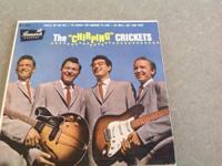 The Chirping Crickets EP 45 Brunswick EB 71036 release