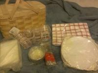 The Classic Basketville Picnic Basket-Family Size of