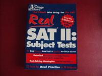 The College Board Real SAT II: Subject Tests Please