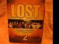 For sale: The second season of the TV show LOST.