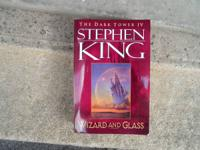 THE DARK TOWER IV; WIZARD AND GLASS by Stephen King