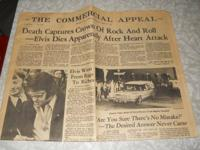 This Vintage paper is from Memphis, TN  Published on