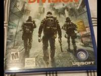 The division for ps4 like new no scratches perfect