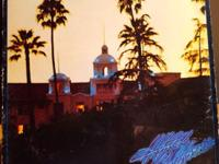 This is the vinyl LP of Hotel California by The Eagles.