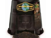 The Earth Machine is a durable backyard compost bin