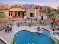 Custom home in the luxury gated community, The Estates