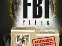 Brand brand-new and sealed. THE FBI FILES - Murder
