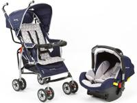 The First Years Wisp Travel System Stroller is a