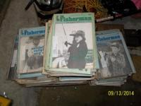 Vintage over 300 issues of The Fisherman-The New