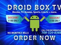 """DROID BOX TV"" THE POWER OF THE FUTURE IS HERE!!! NO"