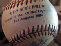 "1984 Olympic Games ""The Game Ball"" Games of the 23rd"