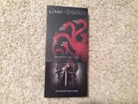 The Game of Thrones, Season 1 DVD Condition: Excellent!