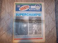The Giants Newsweekly February 1987 - Super Dish XXI -