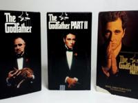 The Godfather 1, 2 AND 3 VHS 6 Tapes Set Combo. The