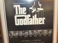 """THE GODFATHER""  PROFESSIONALLY FRAMED  28 INCHES WIDE"