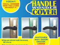 The Handle Wonder Cover is a soft fabric made of