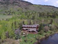 Known as the Lazy Moose Ranch, this 128.01 acre