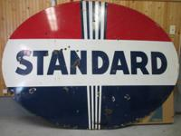 THE HOLY GRAIL OF ENAMEL STANDARD GAS OIL PETRO
