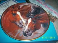 This is for a 8 1/4 inches wide collectors plate that