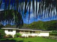 Nestled at the base of the Makaleha Mountains with