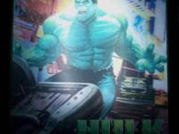 We have The Incredible Hulk 3D Illuminated Light Box -