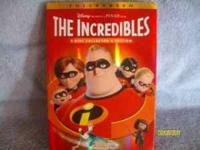 The Incredibles 2 DVD set, it has never been opened,