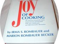 "45th printing 1988 I have for sale ""The Joy Of Cooking"""