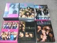 All 6 Seasons of THE L WORD!! Only watched ONCE! Will