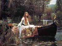 The Lady of Shalott, 1888 Framed artwork by John