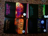 4 PAPER BACKS OF THE LEFT BEHIND SERIES $8 OR $2.50