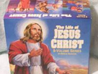 THE LIFE OF JESUS CHRIST - 8 VOLUME SERIES VHS TAPES