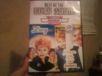 I HAVE A 2 DISC DVD CALLED THE LUCY SHOW WHICH FEATURES