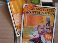 12 issues of The Mother Earth News with dates ranging