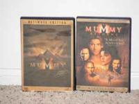 $7.00 for the set or $4.00 each The Mummy -- Brendan